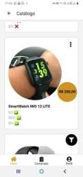 Relógio smartwatch 12 lite