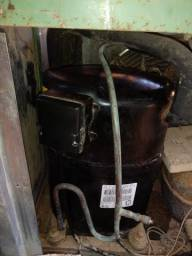 VENDO Compressor Bristol 3hp / motor p/ câmara fria/motor máquina d sorvete