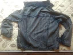 Título do anúncio: Jaqueta Jeans Tam.44 (nova)