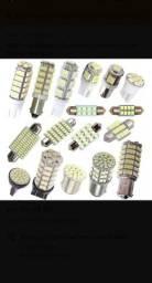 Vendo lâmpada de led varios modelos para todos carros