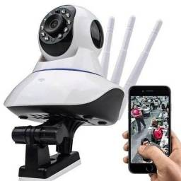 Câmera IP Wifi 3 antenas Visão Noturna