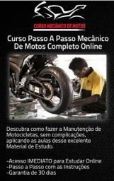 Curso de passo a passo mecânico de moto