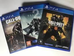 Vendo jogos de PS4 (novo)