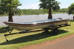 Troco barco e carreta novo por biz completa . - 2018