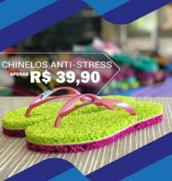 Chinelos anti stress
