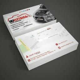 Cartões de visita entrega grátis