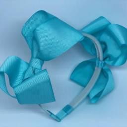 Laços e tiaras