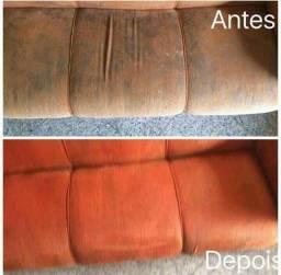 Lava a seco sofás