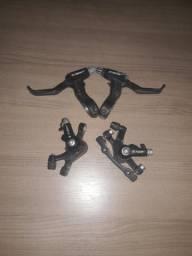 Manete e pinça de freio a disco TSW