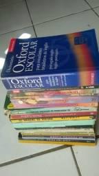 Vários livros baratinhos