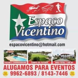 Espaço Vicentino, Eventos