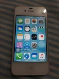 Iphone 4s 16gb branco novinho sem defeitos