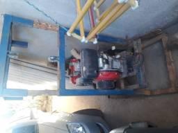 Perfuratriz poço semi artesiano diesel