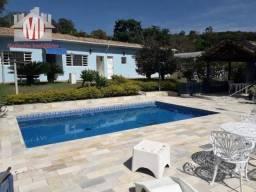 Ch0544 - Casa de campo dos sonhos: piscina, sauna, área gourmet, na cidade de Pinhalzinho