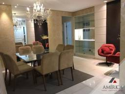 Apto 185 m² mobiliado alto padrão com 4 quartos - prox Av do Cpa