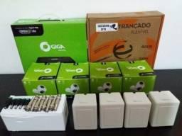 Kit 4 Câmeras Completo Cftv Completo Pronto p/ Instalar 1050