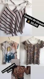Combo de blusas