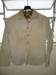Jaqueta de couro feminina - N°38