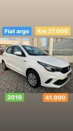 Fiat Argo 2019 Extra!! Entrada 8.990 + 60x 899
