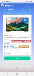 TV Samsung smart 32polegadas