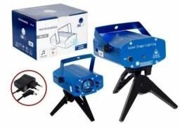 Mini Laser Projetor Holográfico Festas Boate Discoteca Aniversario