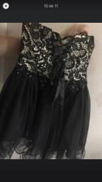 Vestido de festa preto LINDO! NOVINHO 15 anos/ festas