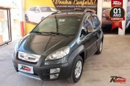 Fiat Idea Adventure 1.8 Cinza - 2012