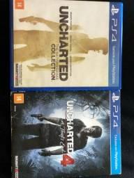 Uncharted 1 à 4 Ps4