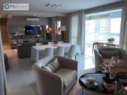 Apartamento com 4 dormitórios à venda, 163 m² por R$ 1.100.000,00 - Jardim Goiás - Goiânia