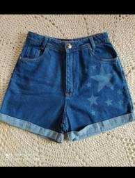 Short 100% Jeans feminino Promoção!!!