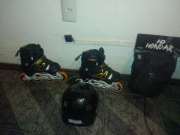 Roller Creme e kit segurança