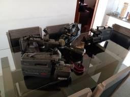Filmadoras usadas para conserto ou aproveitamento de peças