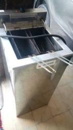 Fritador Água e Óleo 23 Litros c/ 2 cestos - Venâncio