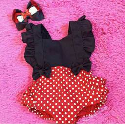 Conjunto Infantil Minnie