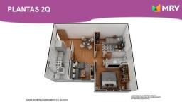 Duque de Caxias - Antecipe se apartamento 1 Qrto com varanda -ótima localização