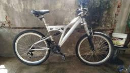 Bike alumínio com amortecedor central
