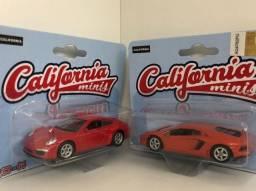Porsche 997 E Lamborghini Avent California Minis 1- 64