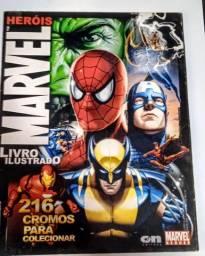 Álbum de Figurinhas Marvel (2009) COMPLETO perfeito estado