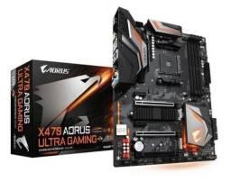 Placa mãe AORUS X470 Ultra Gaming