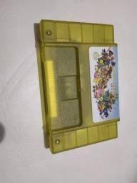 Título do anúncio: Fita cartucho nova pra console vídeo game super Nintendo 68 jogos