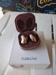 Buds Samsung bronze ( novo )