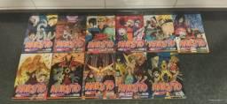 Mangás do Naruto (55 ao 66. menos 65) Thokyo Ghoul e Platinum End.