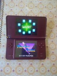 Nitendo DSI XL com cartao de memoria cheio de jogos
