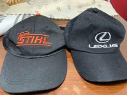 Título do anúncio: Boné lexus e Stihl