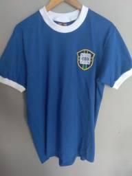 Camisa retrô seleção brasileira (1970) - Ganem Sports