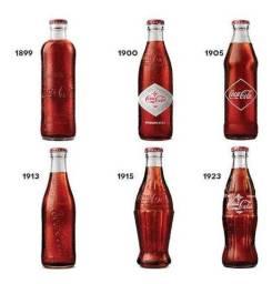 Garrafas Históricas de Coca Cola