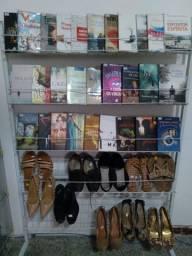 Vendo Expositor Aramado com 5 Prateleiras