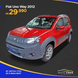 Título do anúncio: Uno way 2012 completo (Auto Cruz veículos)