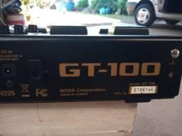 Pedaleira guitarra Boss gt100