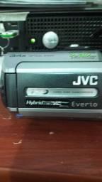 Filmadora JVC Everio 30gb Zoom 34x + Acessórios